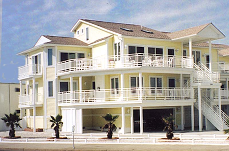 North Wildwood Br Deluxe Beachfront Home With Oceanviews