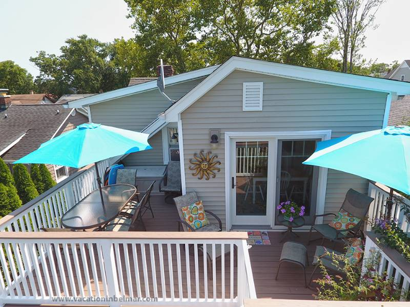 The top-rated 2BR rental home in Belmar -- clean, comfortable and quiet